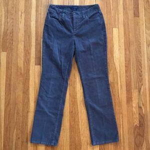 Talbots Heritage Straight Leg Corduroy Pants sz 6P
